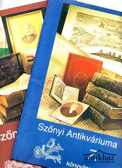 A Szőnyi antikvárium árverési katalógusa 7. 8. (2 db)