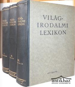 Világirodalmi lexikon I-III kötet
