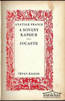 A sovány kandúr ; Jocaste