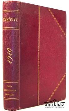 Évkönyv 1910.