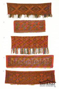 Alte und Antike Knüpfarbeiten der Turkmenen