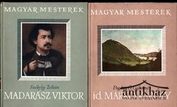 """id. Markó Károly; Madarász Viktor (""""Művészeti könyvek"""", 2 db album)"""