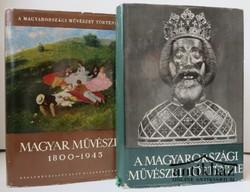 A magyarországi művészet története I-II. kötet
