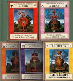 Asztrológia, horoszkóp: Kos; Bika; Ikrek; Oroszlán; Szűz (5 db)