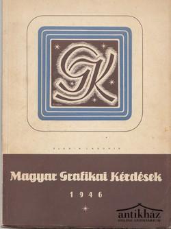 Magyar grafikai kérdések 1946.