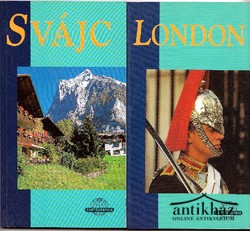 Útikönyv/ Svájc ; London (2 db útikönyv)