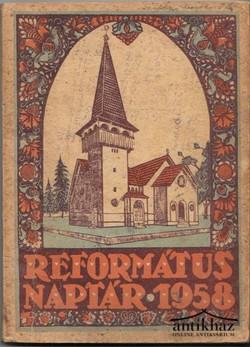 Református Naptár az 1958 évre.