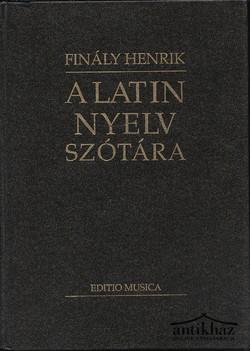 A latin nyelvszótára