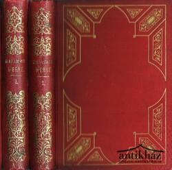 Mendelssohn's Moses sammtliche Werke 1-2 kötet (teljes)