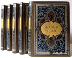 Bajza József összegyűjtött munkái II-VI. kötet (5 db, az első kötet hiányzik!)