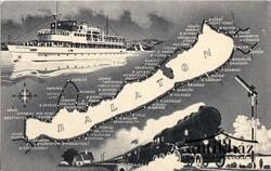 Balaton, hajó, gőzmozdony