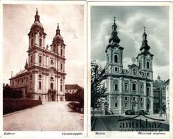 Templomok, Kalocsa és Miskolc (2 db)