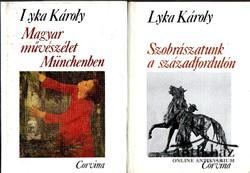 Magyar művészélet Münchenben ; Szobrászatunk a századfordulón (2 mű)