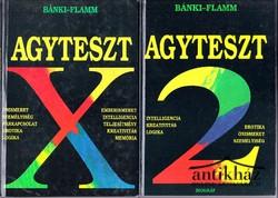 Agyteszt X ; Agyteszt 2 (két kötet)