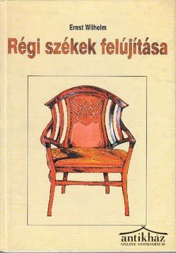 Régi székek felújítása. Régi mesterség új köntösben