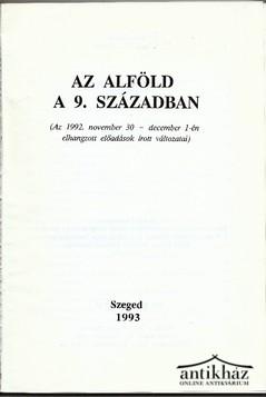 Az Alföld a 9. században