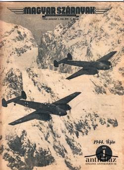 Magyar szárnyak 1944. január 1. (VII. évf. 1. sz.)