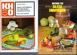 Házi gyümölcs- és zöldségfeldolgozás + Magyaros ízek. Saláták szavanyúságok (2 mű)