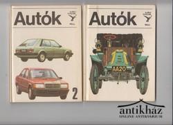 Autók ; Autók 2. (két kötet)