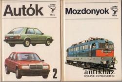 Mozdonyok ; Autók 2. (két kötet)