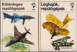 Léghajók, repülőgépek (két kötet)