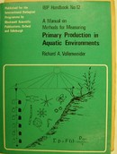 Online antikvárium: A Manual on Methods for Measuring Primary Production in Aquatic Environments